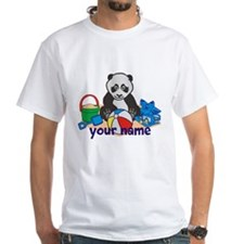 Personalized Beach Panda T-Shirt