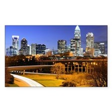 Decal - skyline of Uptown, the of