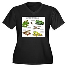 Gliding Frogs of the Asian Rainforests Women's Plu