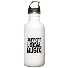 Support Local Music Water Bottle