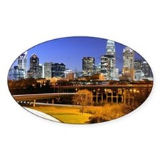Decal - skyline of Uptown, the Financial