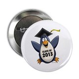 "2013 Graduate Penguin 2.25"" Button (100 pack)"