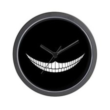 Cheshire Grin Wall Clock