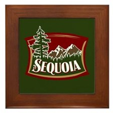 Sequoia Mountain Tree Logo.png Framed Tile