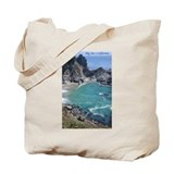 Big Sur Waterfall, Julia Pfeifer Beach Tote Bag