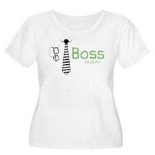 Boss Man Plus Size T-Shirt