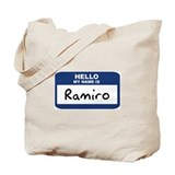 Hello: Ramiro Tote Bag