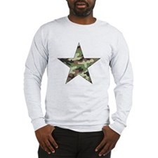 Camouflage Star Long Sleeve T-Shirt