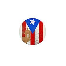Puerto rico el moro Mini Button
