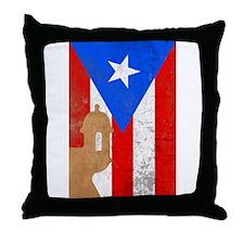 Puerto rico el moro Throw Pillow