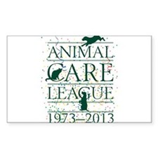 Animal Care League 40th Birthday Decal