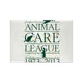 Animal Care League 40th Birthday Rectangle Magnet