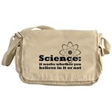 Science Works No Matter What Messenger Bag