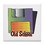 Old School Floppy Disk Tile Coaster