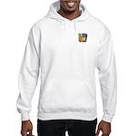 Old School Floppy Disk Hooded Sweatshirt