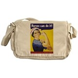 Cool Nurse Messenger Bag