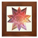 Crystal Star Framed Tile