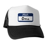 Hello: Oma Trucker Hat