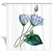 Water Lilies Shower Curtain Shower Curtain