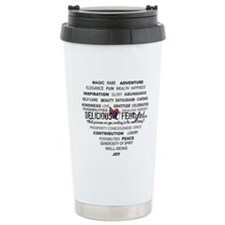 Delicious LifeStyled Travel Mug