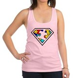 Autism is a Super Power Racerback Tank Top