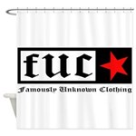 Famously Unknown Clothing Shower Curtain