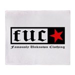 Famously Unknown Clothing Throw Blanket