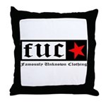 Famously Unknown Clothing Throw Pillow