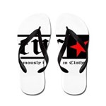 Famously Unknown Clothing Flip Flops