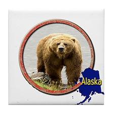 Alaska! Tile Coaster