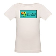 Geocachers do it in the woods T-Shirt