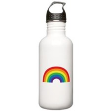 Gay Rainbow Water Bottle
