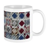 Squares and Diamonds Quilt Small Mugs