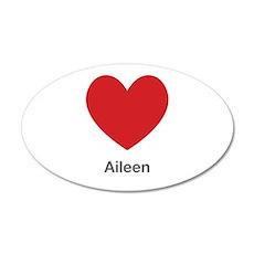 Aileen Big Heart Wall Decal
