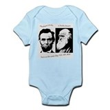 Abraham Lincoln & Charles Darwin Body Suit