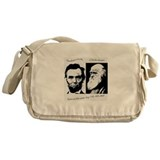 Abraham Lincoln & Charles Darwin Messenger Bag