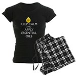 Keep Calm and Apply Essentia Women's Dark Pajamas