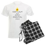 Keep Calm and Apply Essential Men's Light Pajamas
