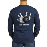 Personalized Team Bowling Long Sleeve T-Shirt