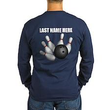 Individual Personalized Bowling Long Sleeve T-Shir