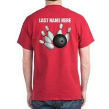 Individual Personalized Bowling T-Shirt