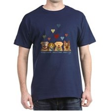 Adopt-A-Dog-Hearts T-Shirt