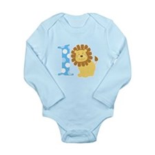 Lion 1st Birthday Boy Body Suit
