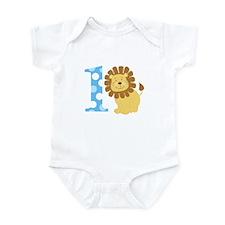 Lion 1st Birthday Boy Body Suit