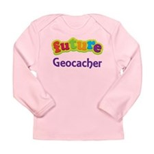 Future Geocacher Long Sleeve Infant T-Shirt