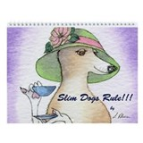 Whippets Wall Calendars