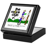 Keepsake Box w/unicycle cartoon