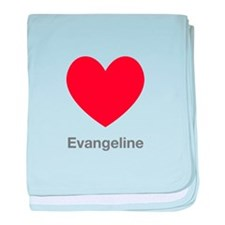 Evangeline Big Heart baby blanket