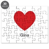 Gina Big Heart Puzzle