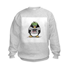 Poker Penguin Jumper Sweater